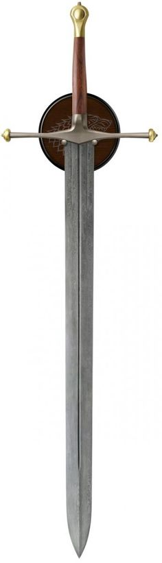 Ice, Sword of Eddard Stark Damascus. Zack Kran's replica sword that he uses against the zombies in DEAD SOIL.