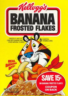 Banana Frosted Flakes from Kellogg's.