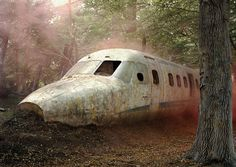 "Abandoned ""Wrecked"" Aircraft"