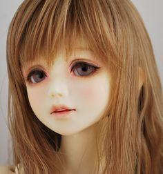 ユノア/ルシス - 黒糖ドロップメイクオーダー Anime Dolls, Blythe Dolls, Pretty Dolls, Beautiful Dolls, Realistic Face Drawing, My Art Studio, Doll Painting, Doll Repaint, Custom Dolls