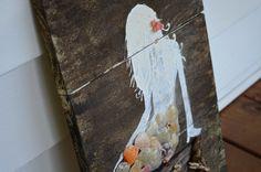 Vintage Wooden Mermaid Sign on Etsy, $35.00