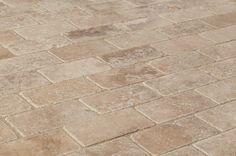 "Travertine Tiles - Tumbled - Noce Classico Rustic / 3""x6""x3/8"" / Tumbled"