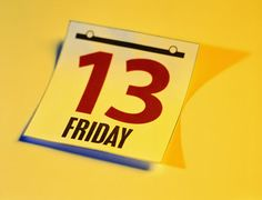 Friday 13th- what do you associate it with?