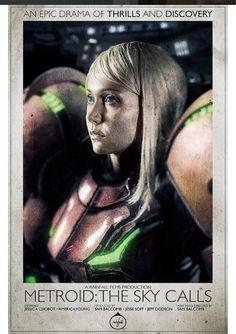 "Jessica Chobot as Samus Aran in ""Metroid: the Sky Calls""   https://youtu.be/x3kfyZJhC3U"