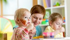 Kidnerbetreuung nanny-sharing nanny kinder Malen quitt.ch Nanny Share, Reggio, Children, Child Care, Parents, Young Children, Boys, Kids, Child
