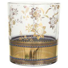 Patina Vie Metallic Lace Cocktail Glass (Set of 8)