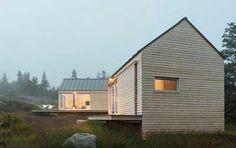 Cabanas Modernas en Maine