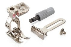 BERNINA accessories search: Make the most of your BERNINA – with presser feet and special accessories for sewing, embroidery, quilting and serging Sewing Basics, Sewing Hacks, Sewing Ideas, Bernina 1008, Walking Foot Quilting, Vintage Tools, Sewing Tools, Learn To Crochet, Machine Embroidery