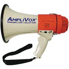 Amplivox Mity-Meg Megaphone (15 Watts)