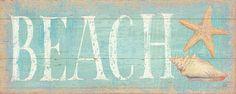 Pastel Beach Poster di Daphne Brissonnet su AllPosters.it