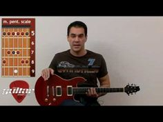 Beginner Guitar Lesson #8 - Lead Guitar: Hammer-on, Pull-off and the Pentatonic Scale
