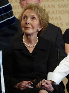 Nancy Reagan has died at the age of 94.   Widow of president Ronald Reagan died at her home after suffering poor health from falls resulting in broken ribs and pelvis over her last years.