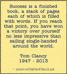 Tom Clancy, dies, age 66. Our Top 10 Tom Clancy Quotes