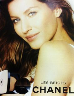 gisele bundchen chanel beauty