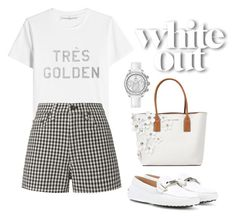 """""""Casual white"""" by pitaa29 on Polyvore featuring Golden Goose, rag & bone, Marc Jacobs, Tod's and OMEGA"""
