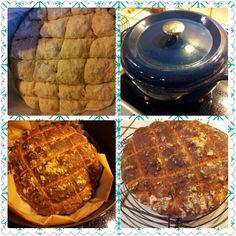 Esssi du pain cuit en cocotte! Recette Modes&Travaux http://fabricoletout.blogspot.com
