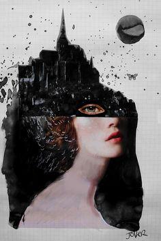 """she mystery"" by Loui Jover   Redbubble"