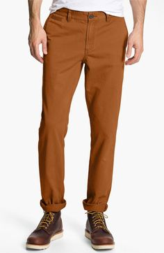 1901 Rigid Twill Jean Fit Chinos available at #Nordstrom