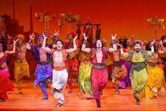 "Adam Jacobs, Brandon O'Neill and Brian Gonzales in ""Aladdin"""