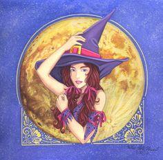 Witch Illustration 2017 by Yamigirl21.deviantart.com on @DeviantArt