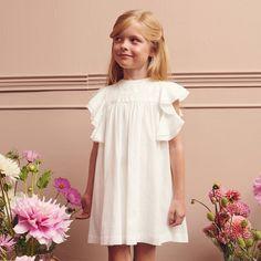 Sukienka Dziewczęca MINIMI 10/20 Kolor Krem Girls Dresses, Flower Girl Dresses, Wedding Dresses, Flowers, Fashion, Tunic, Dresses Of Girls, Bride Dresses, Moda