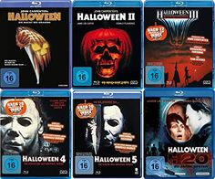Michael Myers, Donald Pleasence, Janet Leigh, Jamie Lee Curtis, Tommy Lee, Dvd Blu Ray, Collection, Movie, Halloween Ideas