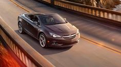 The new Buick Cascada.. just in time for Summer... Let the top come down on this convertible.