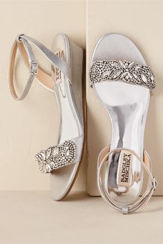 a2045223e530 BHLDN Sparkle Demi Wedge Ivory in Bridal Party