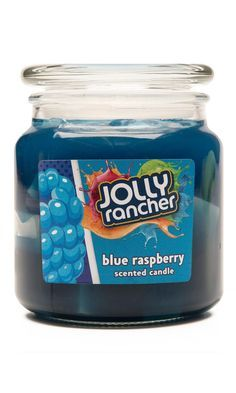 Jolly Rancher Blue Raspberry Scented Jel Candle