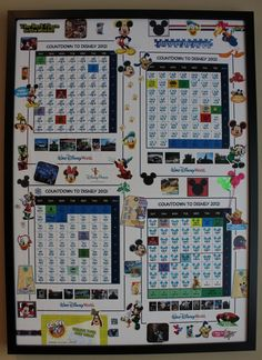Wow!  A 250 day countdown calendar