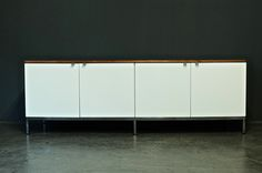 Executive Office Design Line Sideboard by Florence Knoll for Knoll International for sale at Pamono