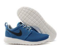 new styles cb591 5d216 Nike Roshe Mens Running Shoe Blue Black New Shoes Cheap Nike Running Shoes,  Nike Casual