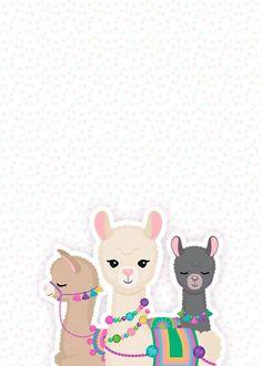 Planner 2019 Lhama Rosa contracapa – Famous Last Words Alpacas, Cute Wallpapers, Wallpaper Backgrounds, Iphone Wallpaper, Natur Wallpaper, Paper Cactus, Cute Llama, Baby Llama, Llama Birthday