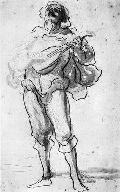 Resultado de imagen para daumier drawings