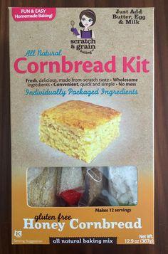 Gluten Free in Orlando: Scratch & Grain Baking Gluten Free Cookie and Cornbread Kits