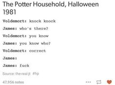 19 Really Funny Harry Potter Posts That You Maybe Haven't Seen Yet Harry Potter Tumblr Posts, Harry Potter Jokes, Funny Tumblr Posts, Harry Potter Fandom, Harry Potter Marauders, Marauders Era, Drarry, Super Funny, Really Funny