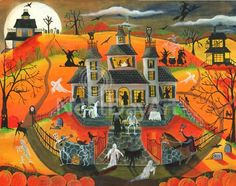 Calling All Spookables on Halloween by Cheryl Bartley