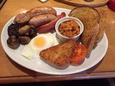 Dubella Lounge, Boldmere. Full English breakfast