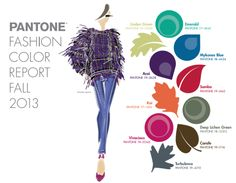 The PANTONE® Fashion Color Report Fall 2013 it is a comprehensive overview of designers' use of color in their upcoming collections. Post Views: 264 {trends} Pantone Fashion Color Report Fall 2013 was last modified: February 2013 by thefashionistyle Fall Fashion Colors, Fall Fashion Trends, Autumn Winter Fashion, Fall Winter, Winter Style, Fashion Ideas, Women's Fashion, High Fashion, Fashion Basics