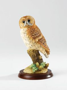 Border Fine Arts A24890 Tawny Owl - Bird Figurine NEW 2013 in BOX 18805 | eBay