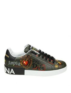 Dolce & Gabbana, Dolce Gabbana Hombre, Dolce Gabbana Sneakers, Studded Sneakers, Leather Sneakers, Shoes Sneakers, High End Shoes, Louis Vuitton, Gucci