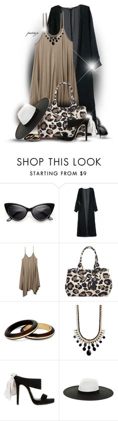 """""""Hanky Dress"""" by rockreborn ❤ liked on Polyvore featuring Wet Seal, Marc by Marc Jacobs, MOOD, Natasha Accessories, Oscar de la Renta and BCBGMAXAZRIA"""