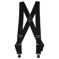 These trucker style suspenders are a great way to keep your pants up in place while providing a comfortable wear. The clips attach to the waistband closer to the front side of the body, instead of the back, making it more convenient to wear while sitting for a long period of time.