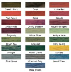 Wood Stain Color Chart For Colors Beyond Natural Tones Minwax Oil Based Is Richer