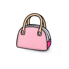 2D 3d bolsa dibujos animados Gismo lienzo mensajero comic 30 diseño... ❤ liked on Polyvore featuring bags and bajo