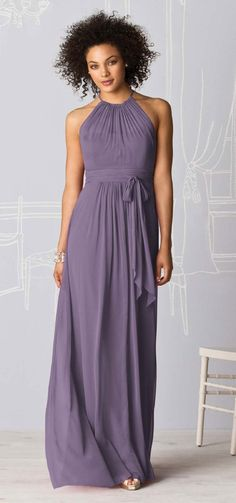 Bridesmaid dress. With possible sheer sage wrap around shoulders.