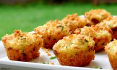 These bite-sized crab cakes are not only delish, but they also baked ...