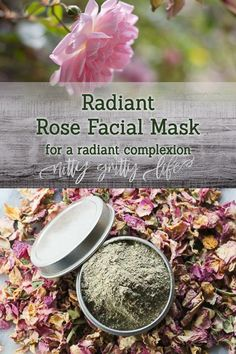 Radiance & beauty with three ingredients - French green clay, rose hips & rose petals. This facial mask is a perfect DIY solution for a glowing complexion. Beauty Case, Diy Beauty, Beauty Ideas, Beauty Secrets, Beauty Makeup, Green Clay, Homemade Beauty Products, Facial Products, Lush Products