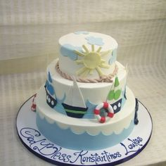 Nautical Cake Dessert Works Bakery  Westwood, MA