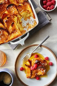 To make this twist on baked French toast, inspired by the Swedish cardamom-infused buns called kardemummabullar, you'll spread slices of tender, eggy challah with a sugary cardamom butter, then toast them until light gold. Next, the spiced toasts get soaked in a peppercorn-spiked custard that enhances the cardamom flavor even more before it's topped with melted butter and Swedish pearl sugar and baked.#breakfastrecipes #brunchrecipes #breakfastideas #brunchideas Best Brunch Recipes, Breakfast Recipes, Dessert Recipes, Kitchen Recipes, Cooking Recipes, Pearl Sugar, Family Meals, Family Recipes, French Toast Bake